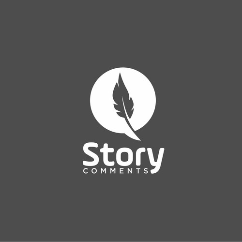 Logo Concept for Story Comments