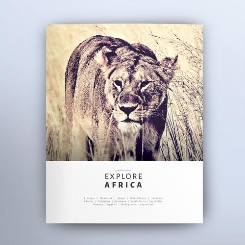 Vintage African Safari Brochure