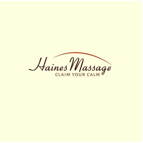 Logo Concept for Massage Business