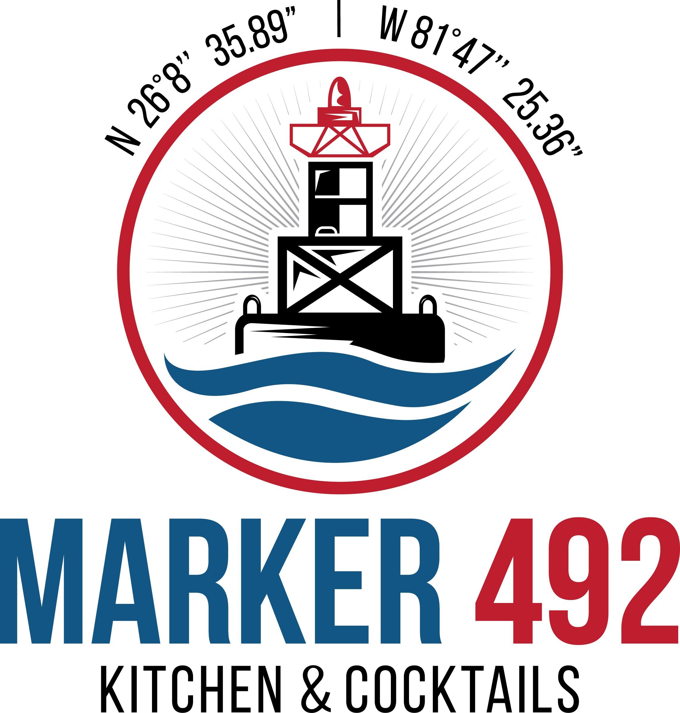 Marker 492 New Restaurant Logo