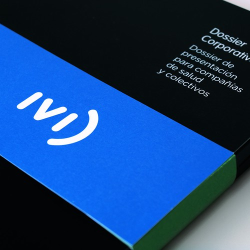 Logo and corporate identity for IVI. Valencian International Infertility Center.