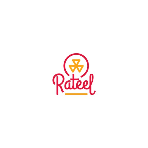 Logo design entry for Rateel events