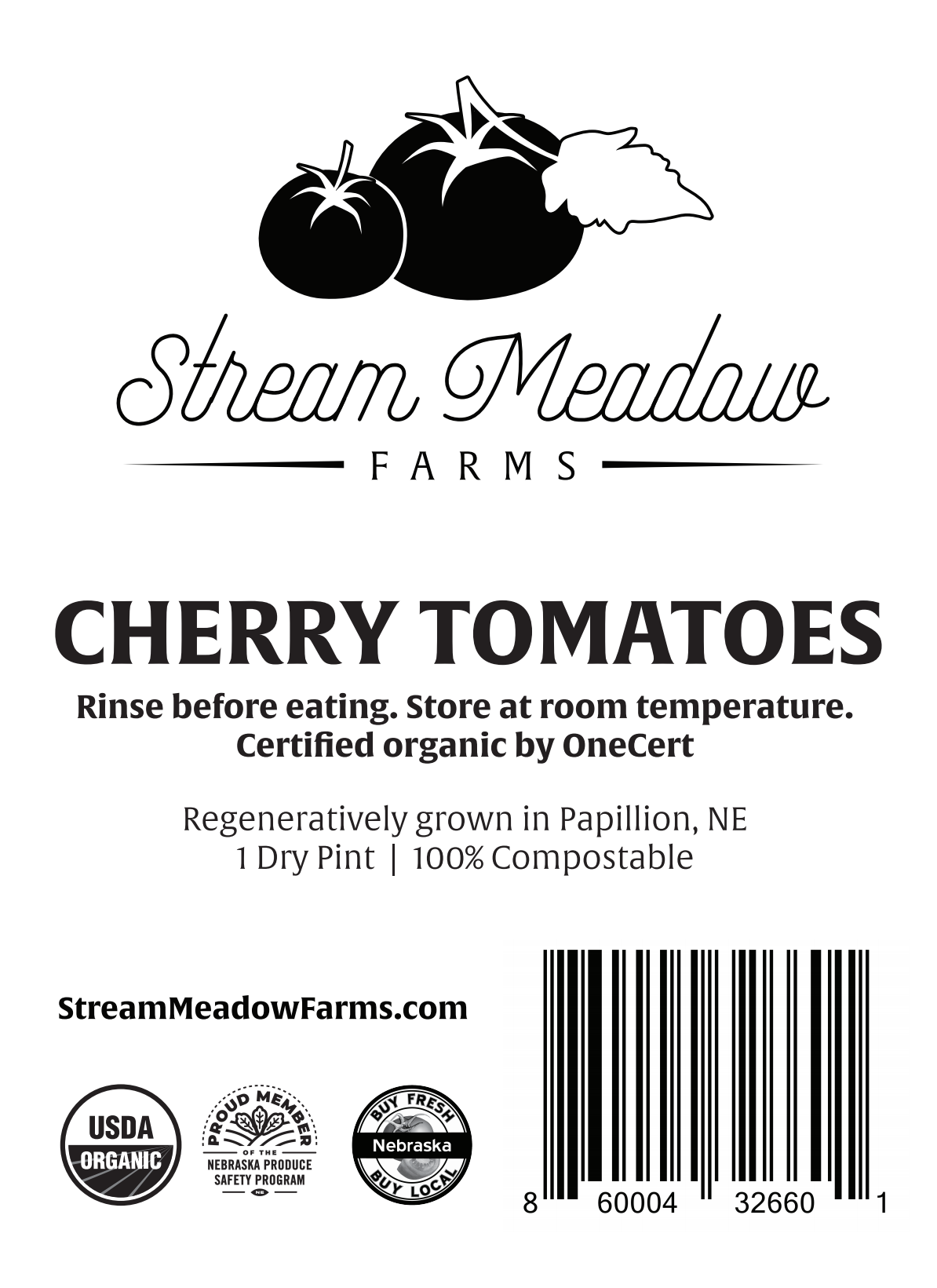 Artwork for Product (Tomato) Stamp or Label