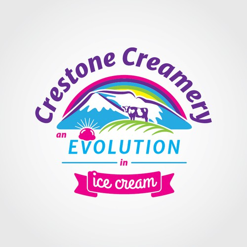 Logo concept for ice cream