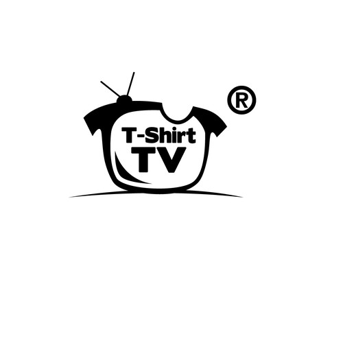 This design will get press coverage New Logo for T-Shirt TV® (The worlds 1st video playing shirt)