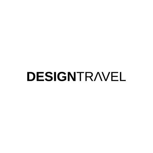Logo for travel + design business