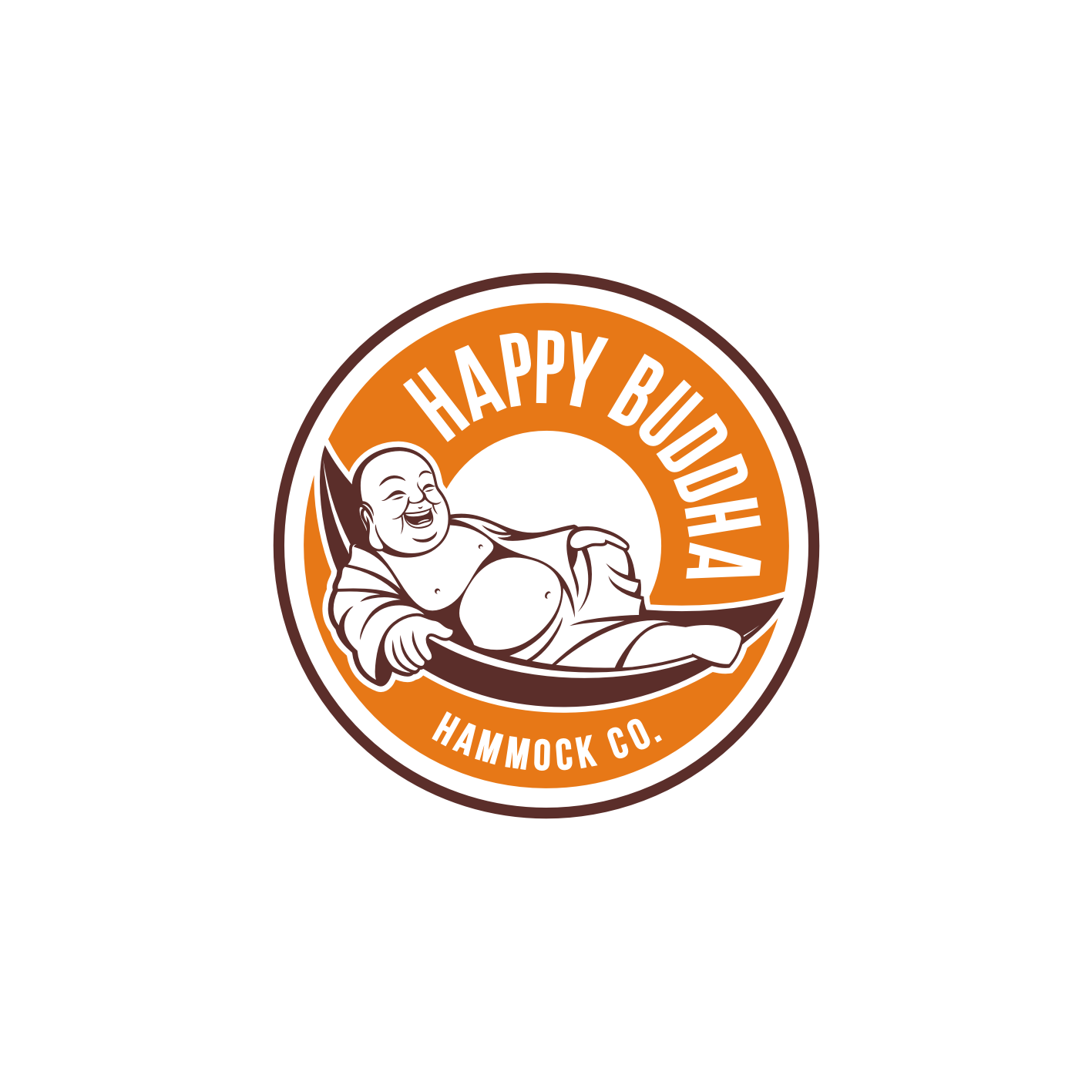 Design a fun and relaxing logo for Happy Buddha Hammock Co.