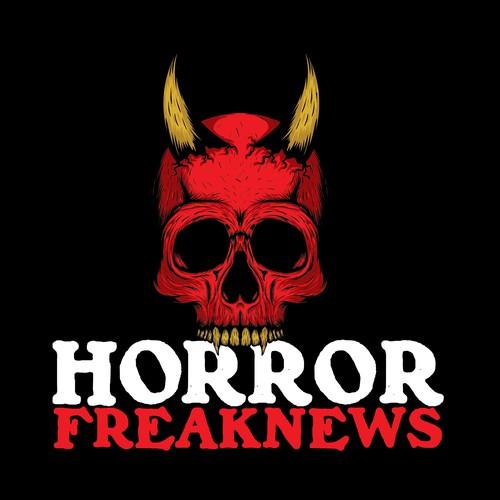 Skull Logo for Horror Freak News