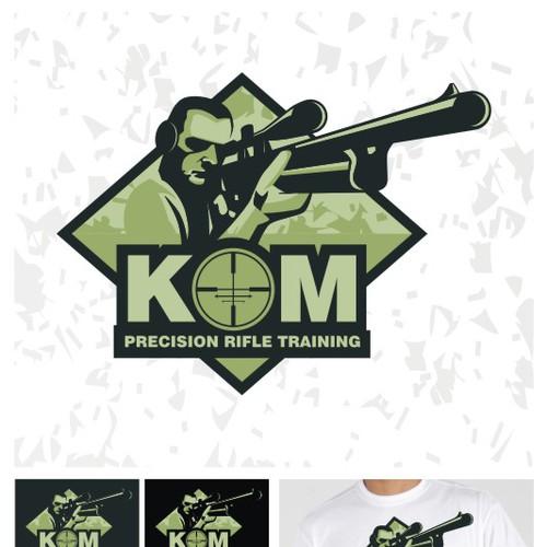 K&M Precision Rifle Training  needs a new logo