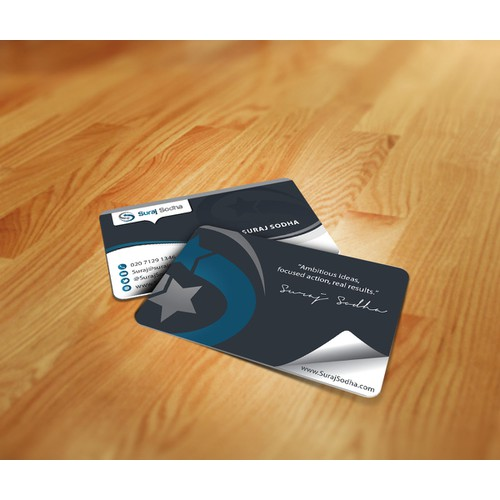 GUARANTEED: Smart and modern DESIGN needed for entrepreneur's business card