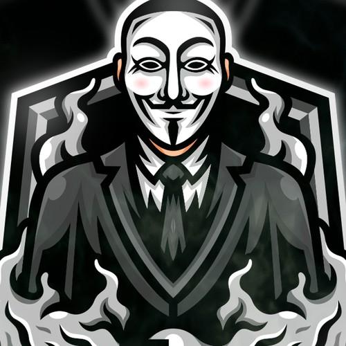 Anonymous Mascot Logo