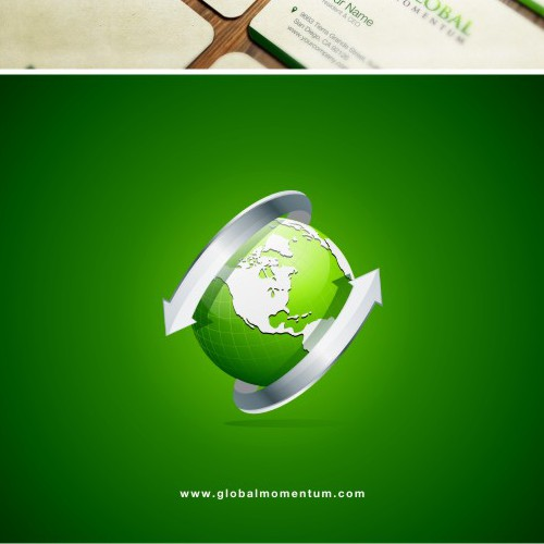 Logo rendering global momentum