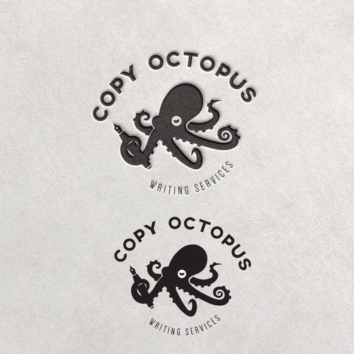 New logo for Copy Octopus writing services