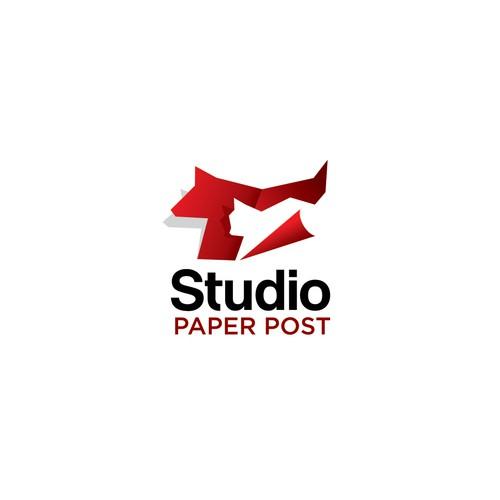 studio paper post logo