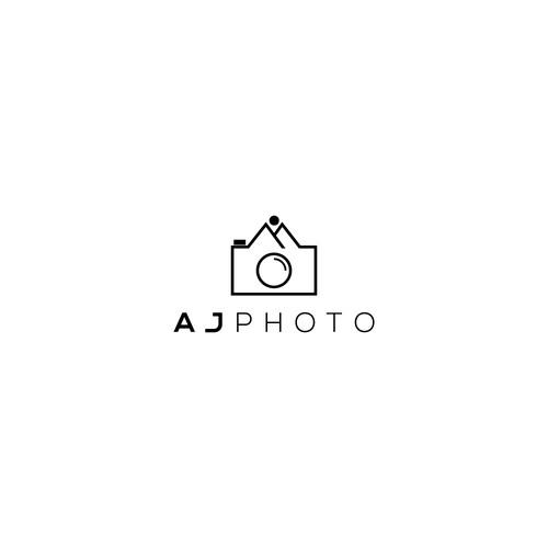 """Logo concept for """"AJPHOTO"""""""