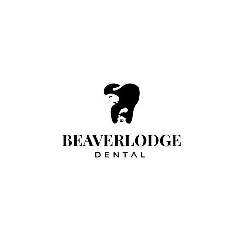 Beaverlodge Dental logo design