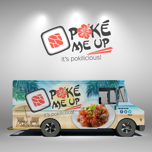 Poke Me Up Food Truck