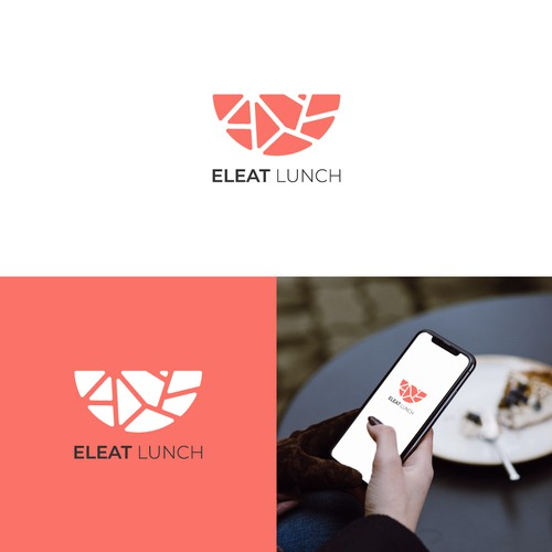 Modern logo for a lunch delivery