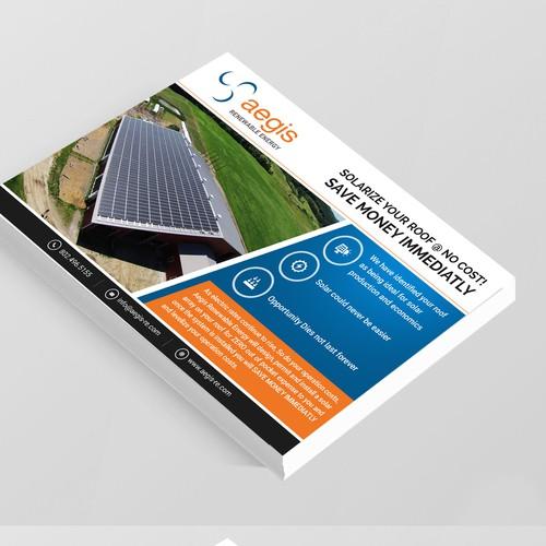 Vermont Rooftop Solar Postcard