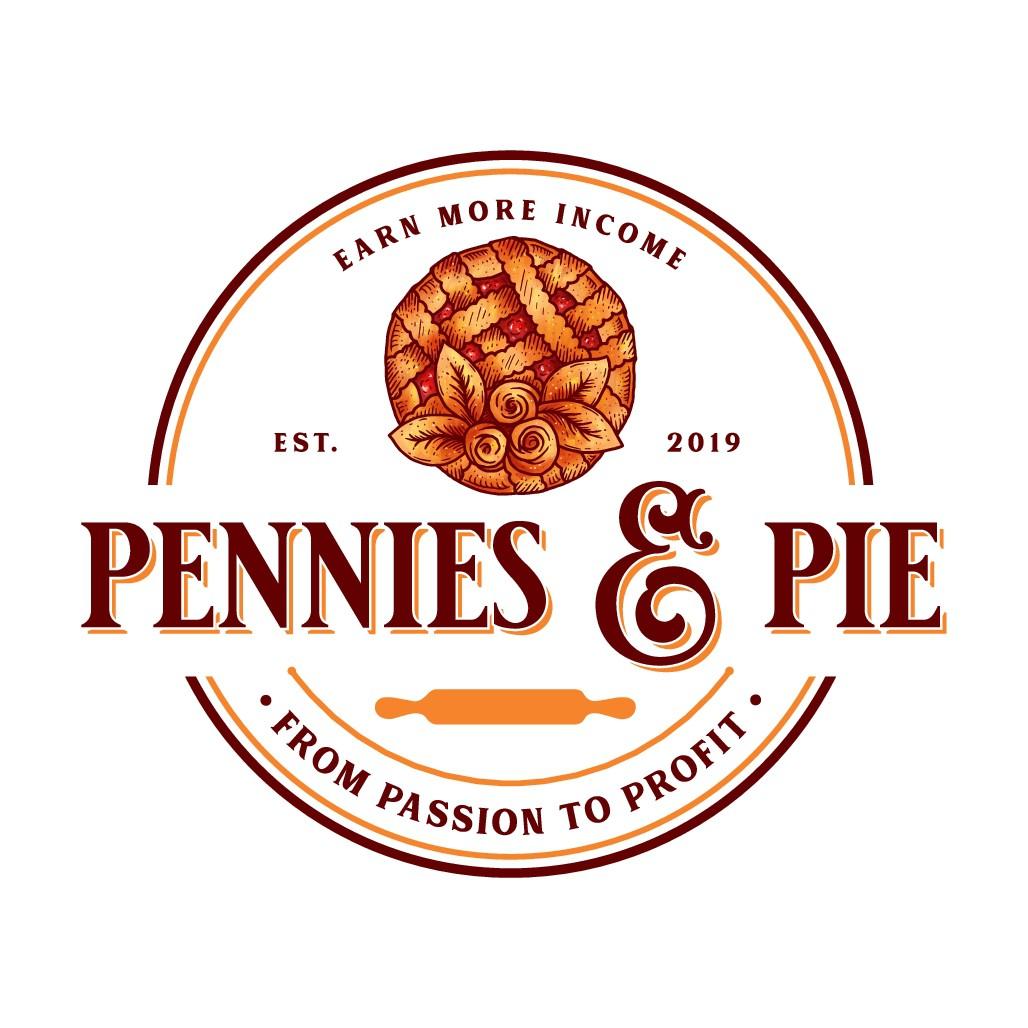 Design a stellar logo for Pennies & Pie!