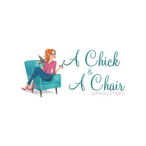 A chick & A Chair