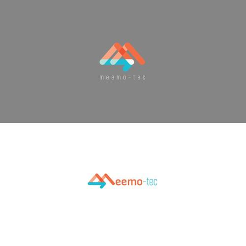 A logo design for a health technology company.