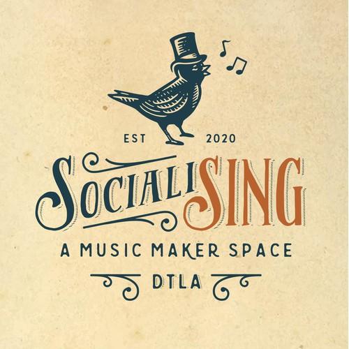 Logo for SocialiSing