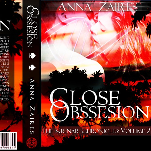 Create the cover for book 2 in a successful SciFi/Paranormal Romance series