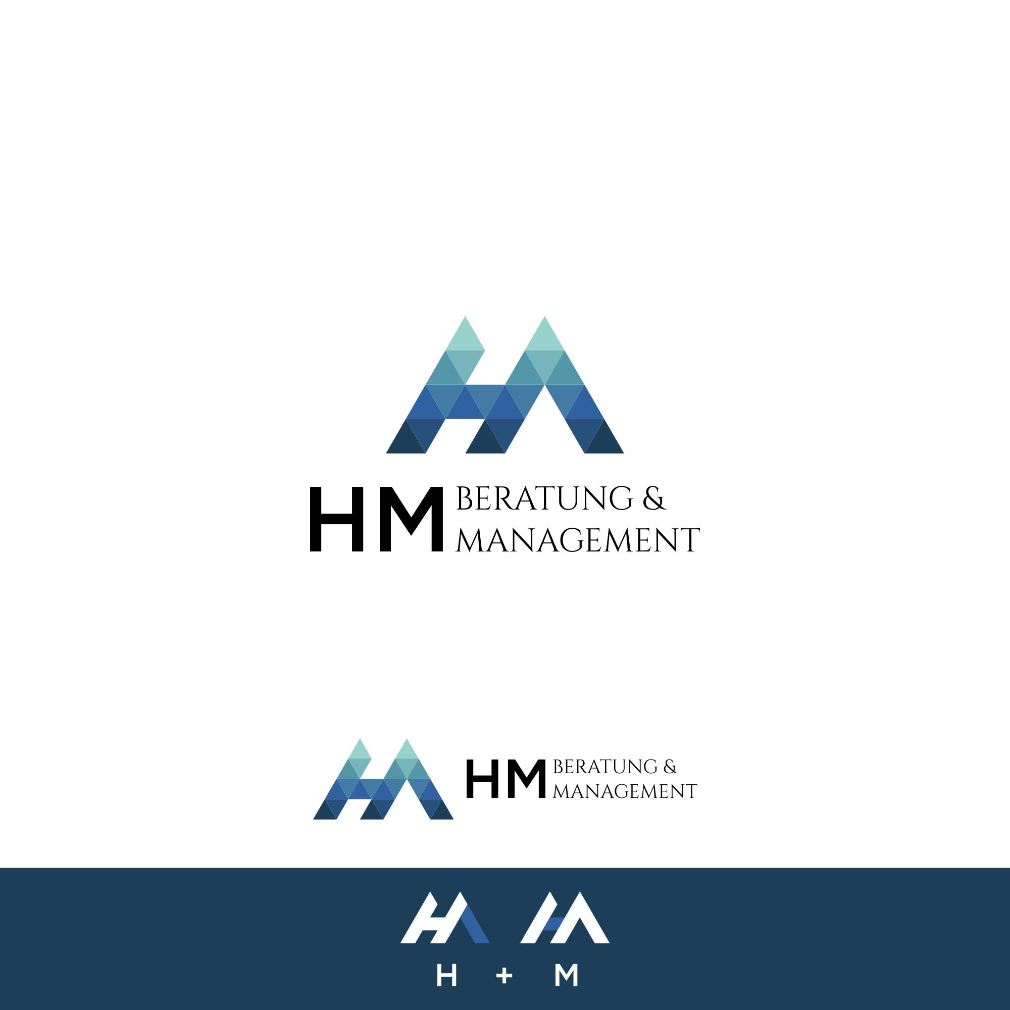 HM Beratung braucht ein modernes Logo die das Know-How und die Stärken wiederspiegeln