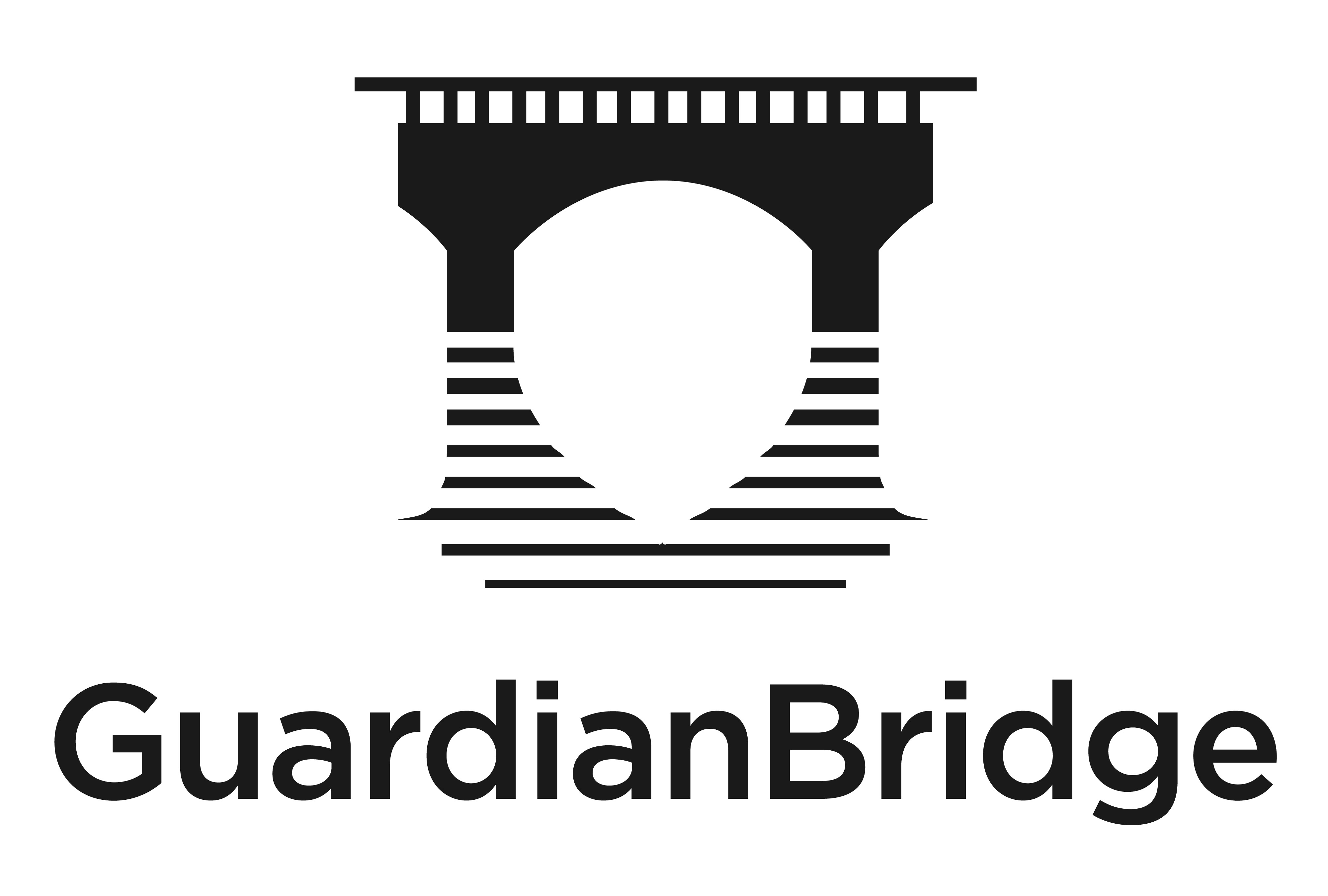 Create an engaging logo for GuardianBridge (a risk management services & software company)