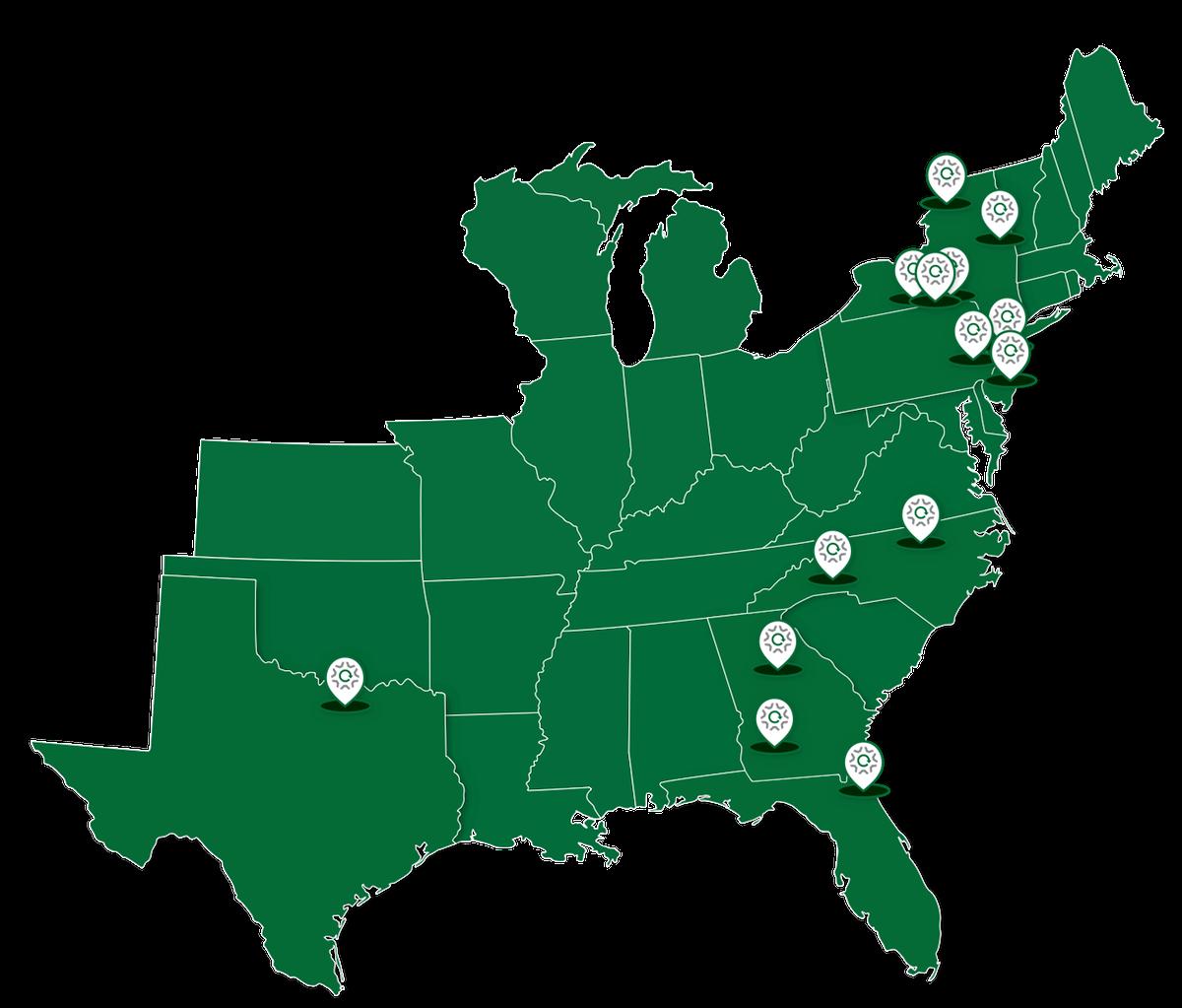 Map design for Fenix Parts