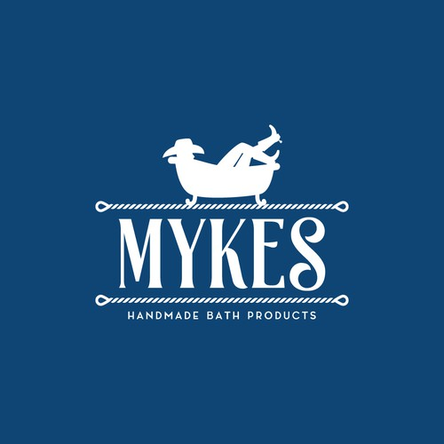 Logo design for Mykes Handmade Bath Products