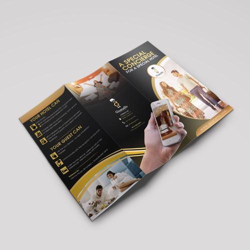 brochure for  mobile concierge