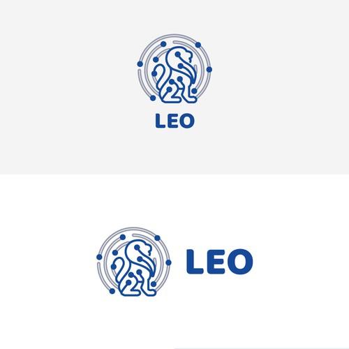 LEO logo for a network-based animal gene application