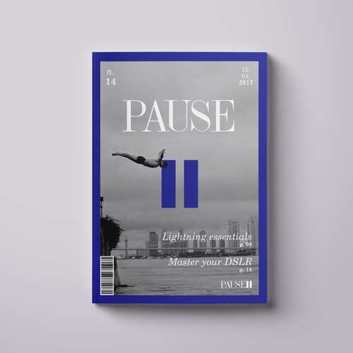 Pause Magazine Cover