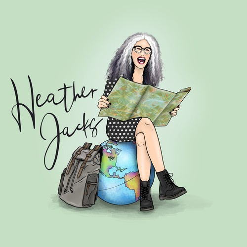 Illustration for Travel Blog