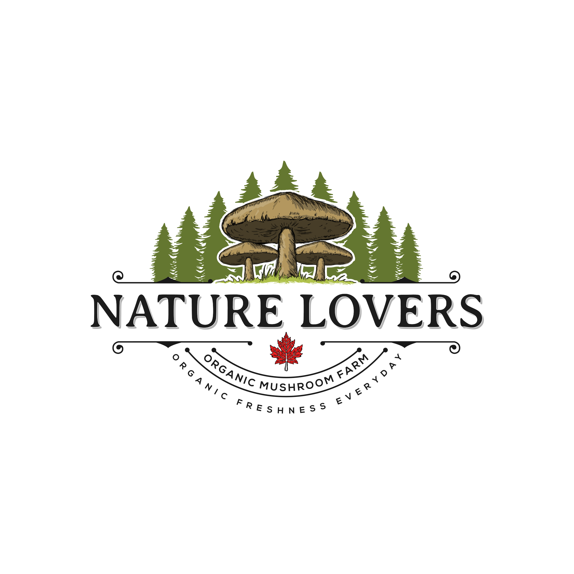 Nature Lovers needs a corporate logo - Specialty organic mushrooms