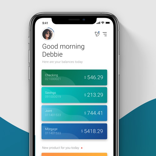 Financial App Design