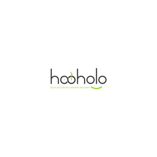 Minimalist logo concept for hooholo