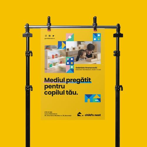 Poster Design - Child's Nest