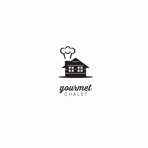 Cute Gourmet Food Website Logo