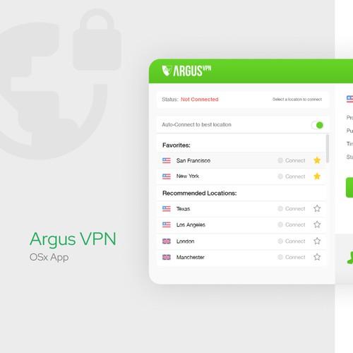 Argus VPN OSx App