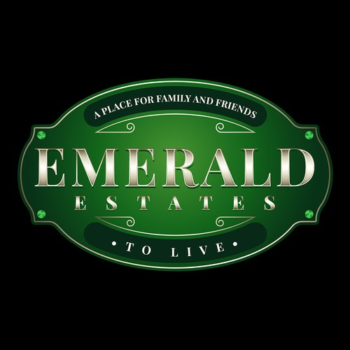Emerald Logo for Emerald Estates