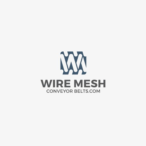 WIRE MESH Conveyor Belts.com LOGO