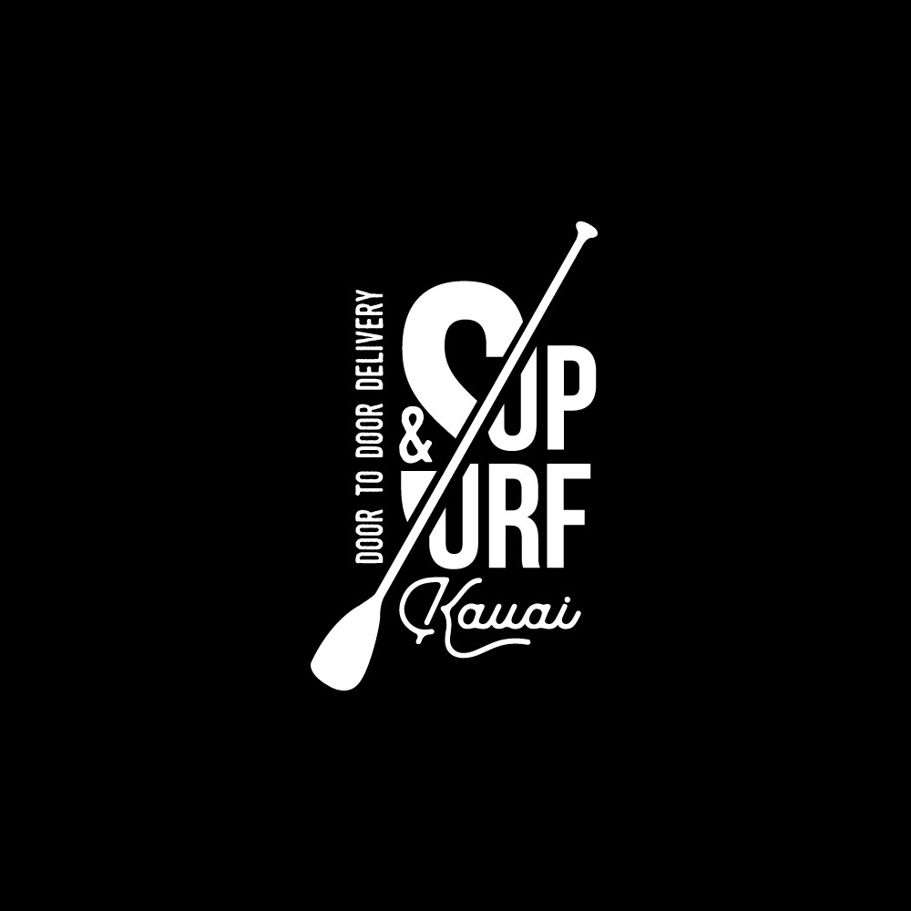 SUP and Surf Kauai needs a cool new logo