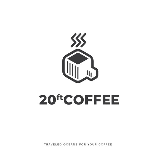 Logo for a coffee truck