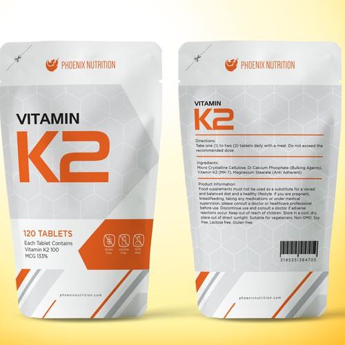 Vitamin packaging for phoenixnutrition