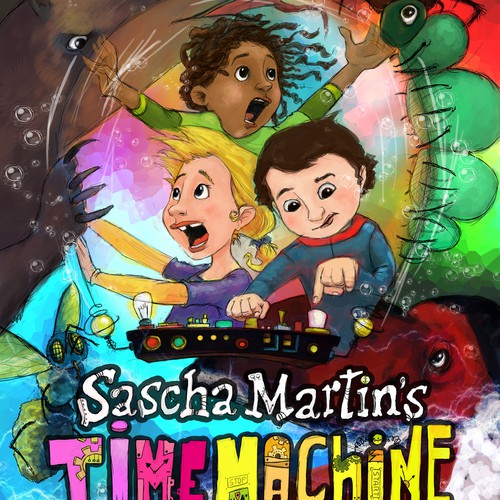 Cover for Sascha Martin's Time Machine