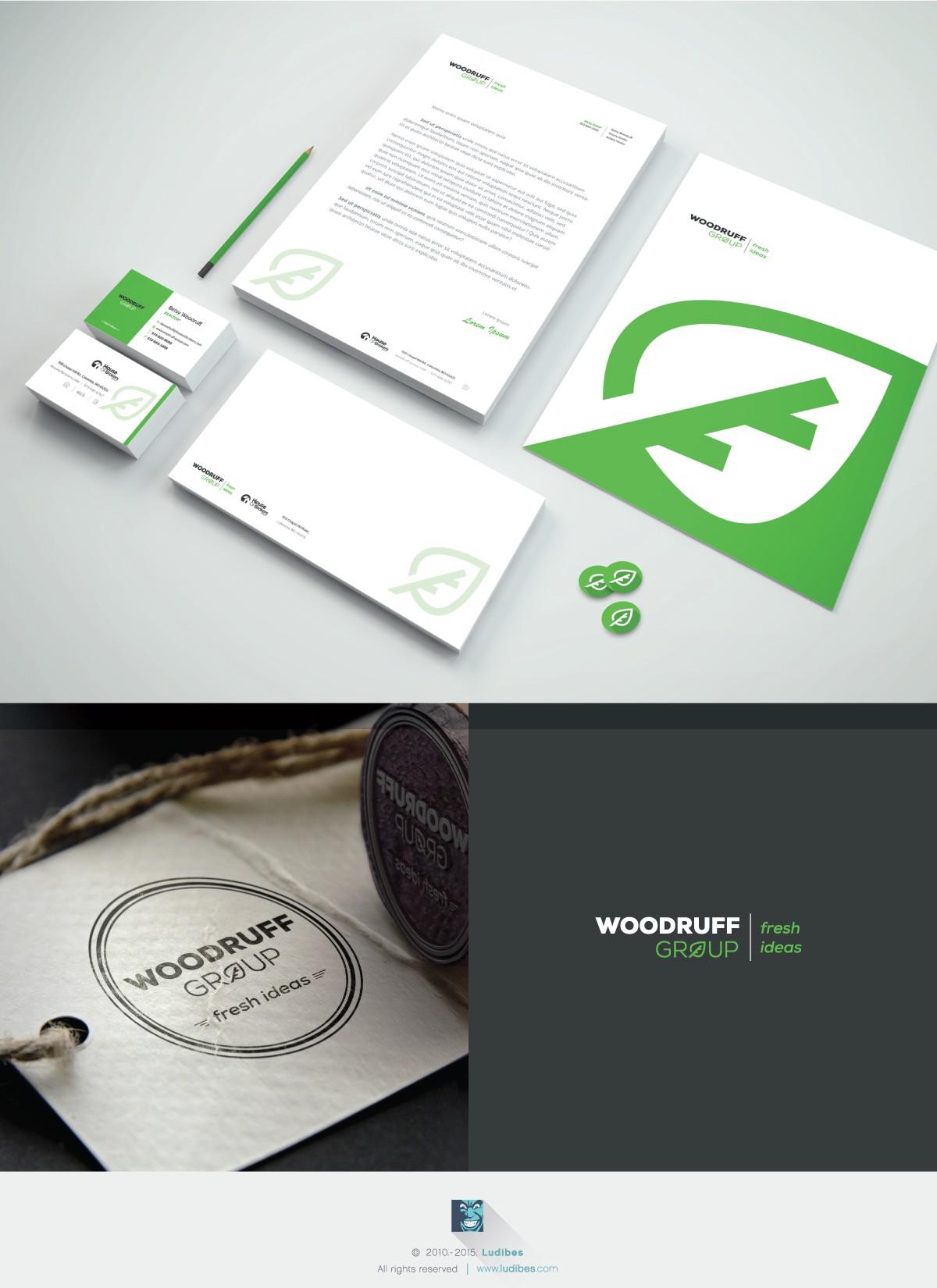 Woodruff Group identity package
