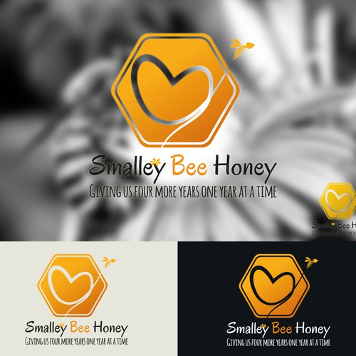 The honey made with love